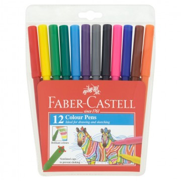 Faber Castell Magic Colour Pens (12 Colours)
