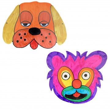 Animal Face Mask (8 Designs)