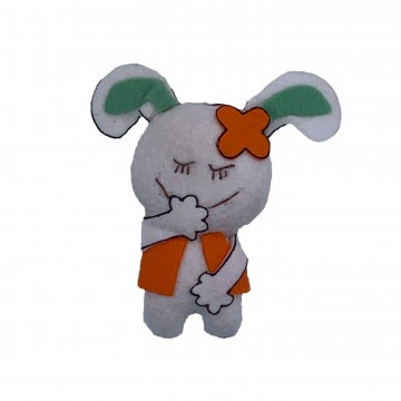 Hanging Felt Goat Toy Set