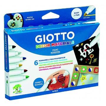 Giotto Decor Multisurface Art Fibre Markers