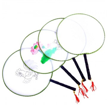 Silk Fan 24cm Diameter