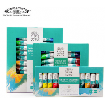 Winsor & Newton Fine Acrylic Colour Set
