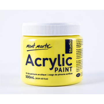 Mont Marte Studio Acrylic Paint 500ml