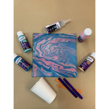 Acrylic Pouring DIY Kit