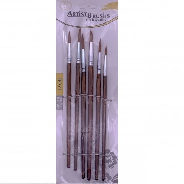 Boyi Artist Nylon Brush Set