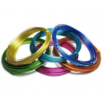 Coloured Aluminium Wire
