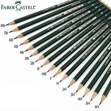 Faber Castell Drawing Pencil (2B, 3B, 4B, 5B, 6B, 8B)