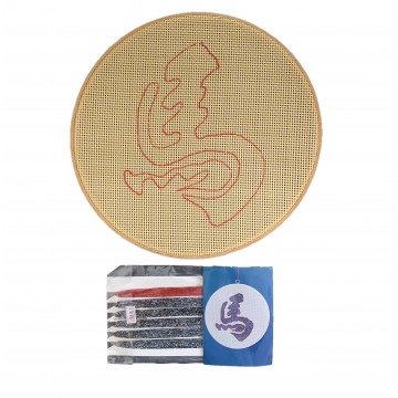 Cross Stitch Horse Set 12""