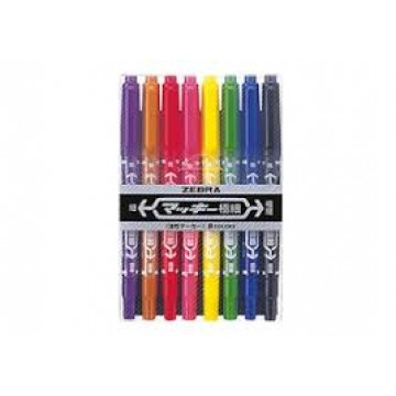 Zebra Ex-Mckee Double-sided Markers