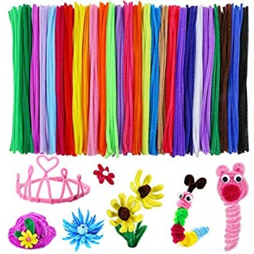 Pipecleaners 30cm x 6mm diameter (30 pieces/packet)