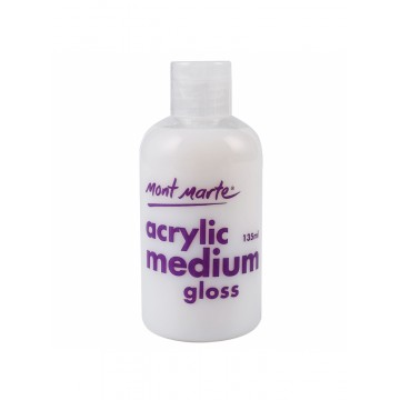 Mont Marte Acrylic Medium Gloss 135ml
