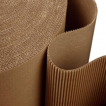 Corrugated Paper Single Face