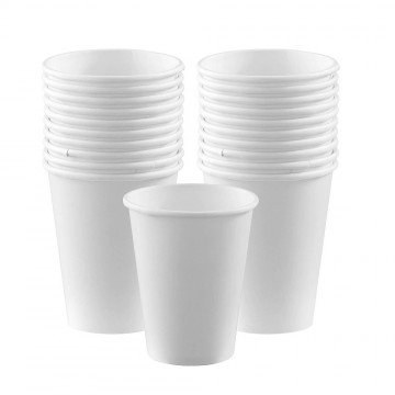 White Paper Cups 7oz (50 pieces/packet)