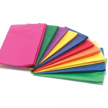 "Coloured Tissue Paper 20"" x 26"" (100 sheets/packet)"