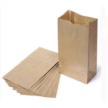 Brown Paper Bag (100 pieces/packet)