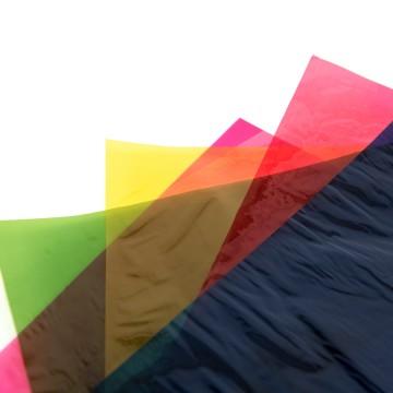 Coloured Cellophane Paper (90cm x 1 metre)
