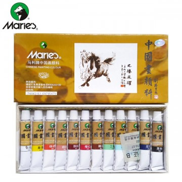 Maries Chinese Painting Colours (12 colours)