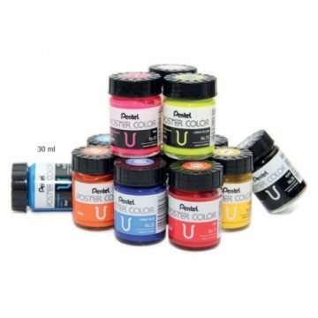 Pentel Poster Colour WPU 30ml